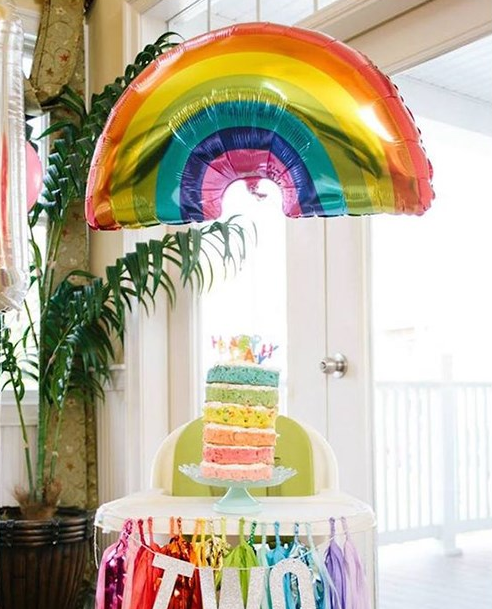 Радуга шарики с улыбающимся лицом облако День рождения Свадебные аксессуары украшения юбилей гелиевые шары Прямая доставка