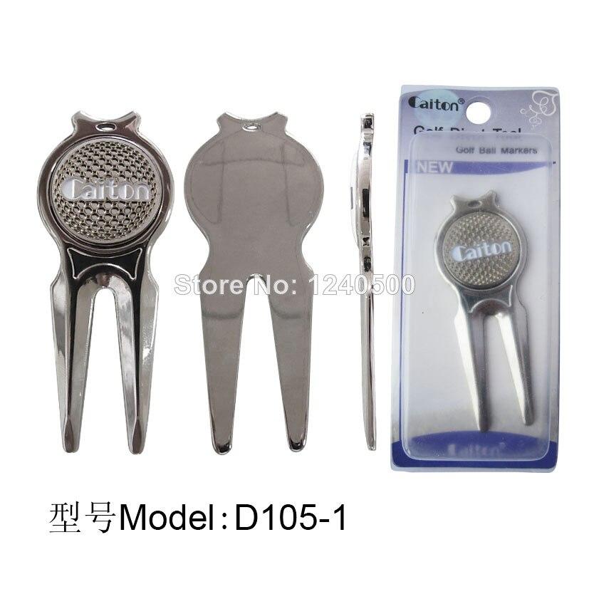 Envío gratis magnético Divot fijador - conecta a bolsillo W / Golf marcador de l
