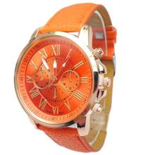 Fashion Women's Watch Stylish Numerals Watch Faux Leather Analog Quartz Wrist Watch Easy To Read Dropshipping High Quality A26