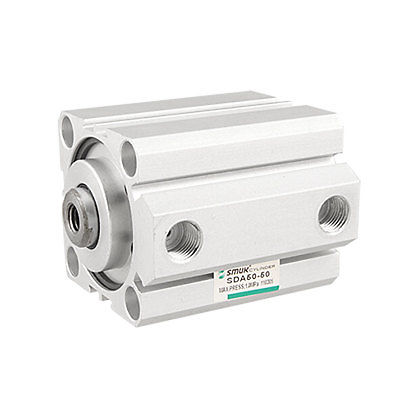 50mm Bore 50mm Stroke Double Action Thin Air Cylinder Qfqdi Free Shipping 50mm bore 50mm stroke aluminum alloy double action air cylinder free shipping