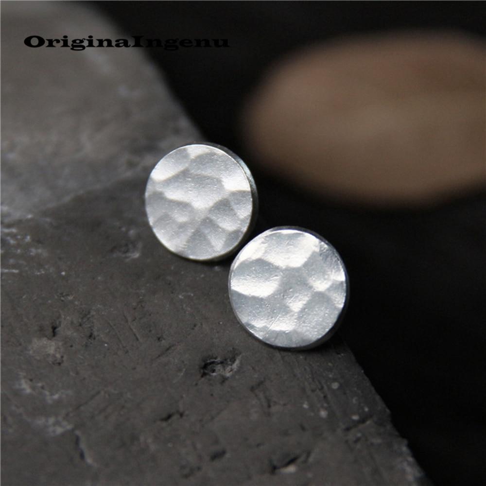 925 Sterling Silber Stud Ohrringe Brincos Pendientes Charme Vintage Minimalismus Geburtstag Geschenk Ohrringe Ohrringe für Frauen Schmuck