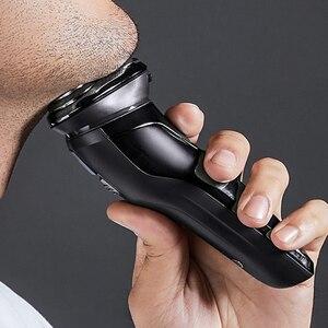 Image 2 - SOOCAS SO WHITE ES3 rasoir électrique pour rasoir Rechargeable 3D Smart rasoir électrique lavable tondeuse à barbe machine à raser