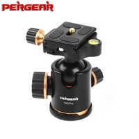 Pergear TH3 Pro DSLR Camera Tripod Ball Head 8KG Loading Capacity 360 Degree Swivel Metal Build Quality Fine Tuning Damping