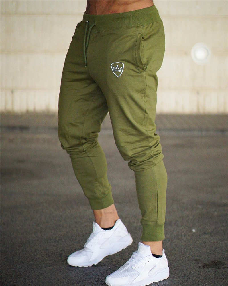 Men BeLegend Gyms Longpants Mid Men's Sporting workout fitness Pants casual Fashion sweatpants jogger pants skinny trousers