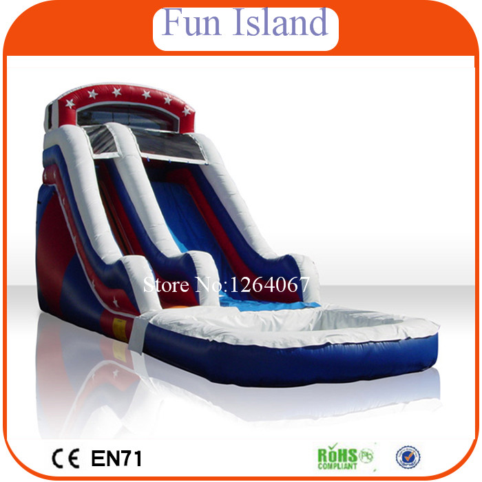 Free Shipping  Inflatable Water Slide, Inflatable Jumping Slide For Sale ,Customized Inflatable Water Slide new inflatable slide wave slide slide ocean hx 886