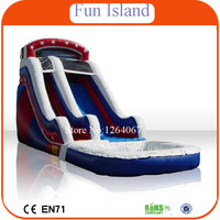Free Shipping Inflatable Water Slide, Inflatable Jumping Slide For Sale ,Customized Inflatable Water Slide