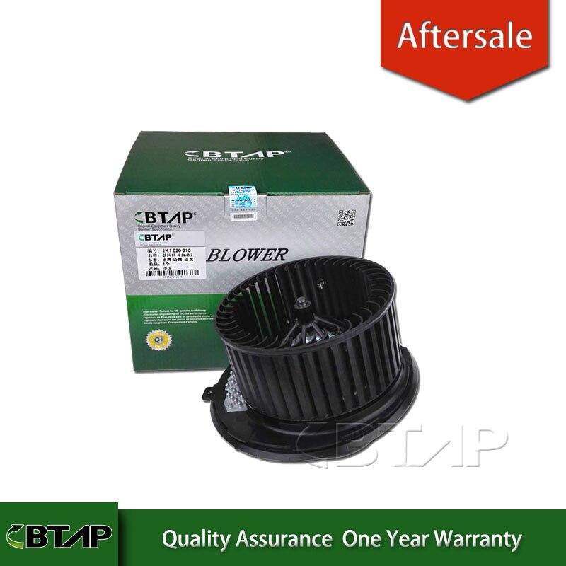 BTAP HVAC Interior Blower Motor FOR VW GOLF JETTA PASSAT TOURAN OCTAVIA AUDI A3 1K1820015 1K1820015E