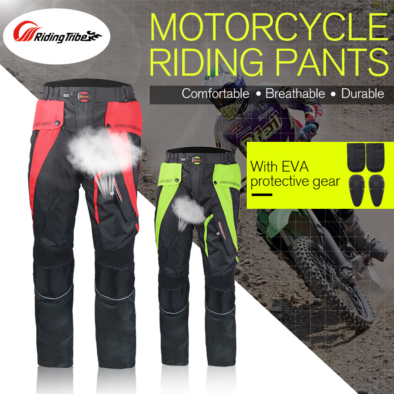 Riding Tribe Motorcycle Knight Racing Pants Dirt Bike Motocross Offroad Riding Moto Protect Gears Pants Cycling Wearable Trouser riding tribe men s motorcycle bikes slimming protective armor jackets motocross breathable cycling suits clothes with 6 pads