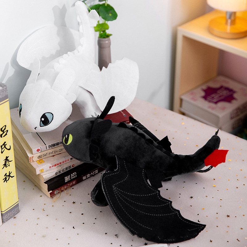 New 25 Cm How To Train Your Dragon Plush Toy Toothless Night Fury Soft Stuffed Gifts