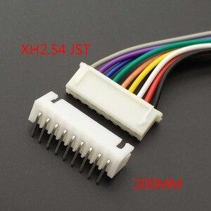 Image 4 - 10 個 XH 2.54 JST コネケーブル 20 センチメートルロング 26AWG 2/3/4/5 /6/7/8/9/10/11/12P + XH 2.54 接続プラグ曲げでの針
