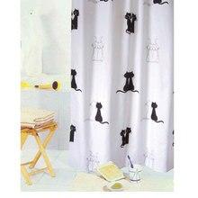 Duschvorhang liebe katze eule bild mit duschvorhang haken wasserdicht polyester bad duschvorhang satz bad vorhang