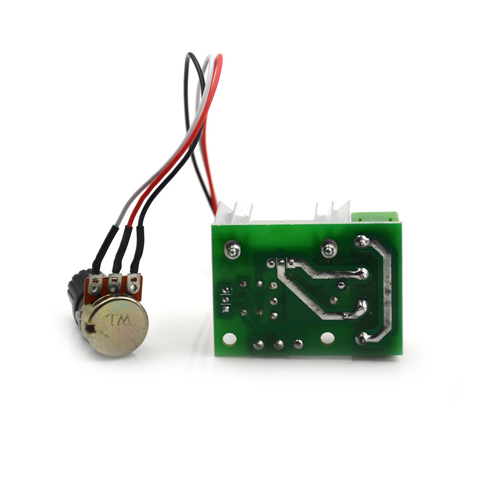 DC 1.8 V-12 V Controller Control Governor With Switch Reversible Motor Speed Controller 3.2x3.2cm