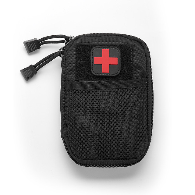 Portable Military First Aid Kit Empty Bag Bug Out Bag Water Resistant For Hiking Travel Home Car Emergency Treatment 4