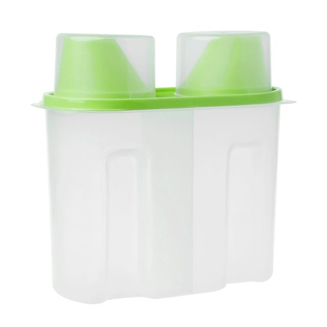 Gentil Plastic Kitchen Food Cereal Grain Bean Rice Storage Box Case Container  Dispenser Home Food Storage Box 4 Colors W15