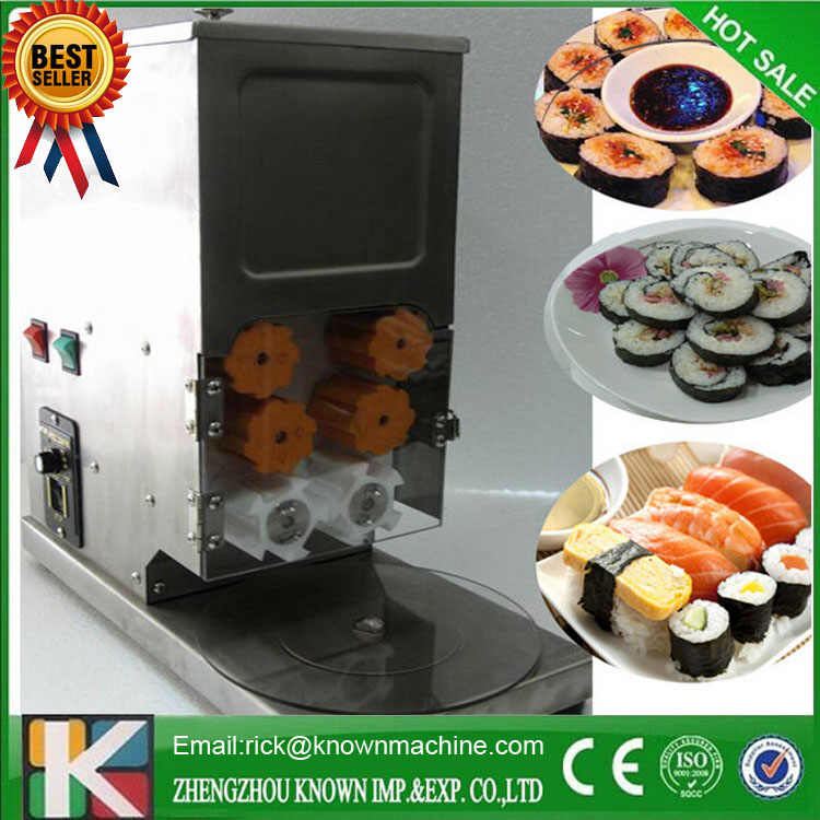 The CE certified hot selling Sushi rice roll making/forming maker machine with low price