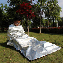 New Outdoor 4 Layer Lightweight Emergency Camping Travel Hotel sleeping Bag Heat Insulation Survival Anti-dirty Bag W1