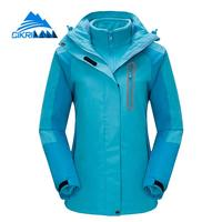 2017 Hiking Ski Snowboard Sportswear Coat Windproof Waterproof Outdoor Winter Jacket Women Camping Chaquetas Mujer Fleece