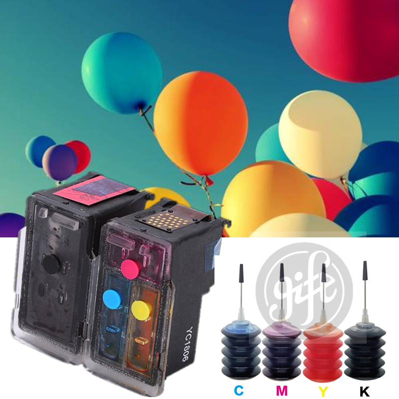 Refillable ink cartridge for pg 445 cl 446 canon PG-445 CL-446 refillable PIXMA iP2840/MX494/MG2440/MG2540/MG2940
