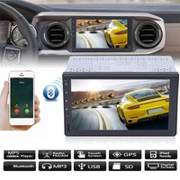 (Ship From DE)7 Inch For Android 7.1.1 Car MP5 Player Bluetooth GPS Navigation Stereo Radio WIFI 3G 2 DIN 2G+16G Media Player