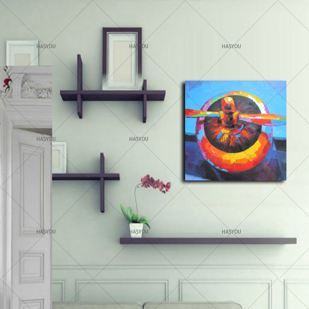 Aliexpress buy airplane propeller pictures oil painting home aliexpress buy airplane propeller pictures oil painting home decoration wall art by hand painted for living room bedroom from reliable hand painted amipublicfo Choice Image