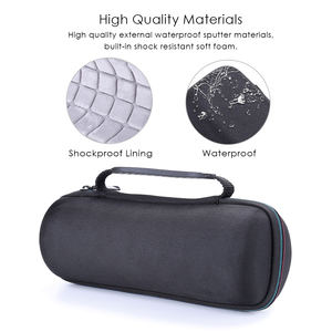Image 3 - Taşınabilir Koruyucu Seyahat Taşıma EVA Depolama Sert Çanta Case anti şok Kapak Kılıfı için JBL Flip 3/Flip 4 hoparlör Aksesuarları
