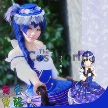 4d6e3c022809 Love Live School Idol Project Sonoda Umi Dancing Party Dresses Court Full Dress  Uniform Outfit Anime
