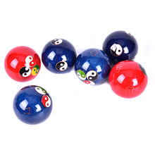 Access Relaxation Therapy Massage Handballs Chinese Health Balls hand finger Exercise Stress Relief Baoding Balls Red/Blue/Green discount