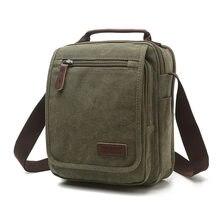 Z. l. d. Nova lona vertical saco de escola alta qualidade saco do mensageiro militar bolsa de ombro grande capacidade bolsa pequena praça