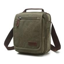 Z.L.D. Новая вертикальная холщовая школьная сумка, мессенджер высокого качества, военная сумка на плечо, вместительная маленькая квадратная сумочка