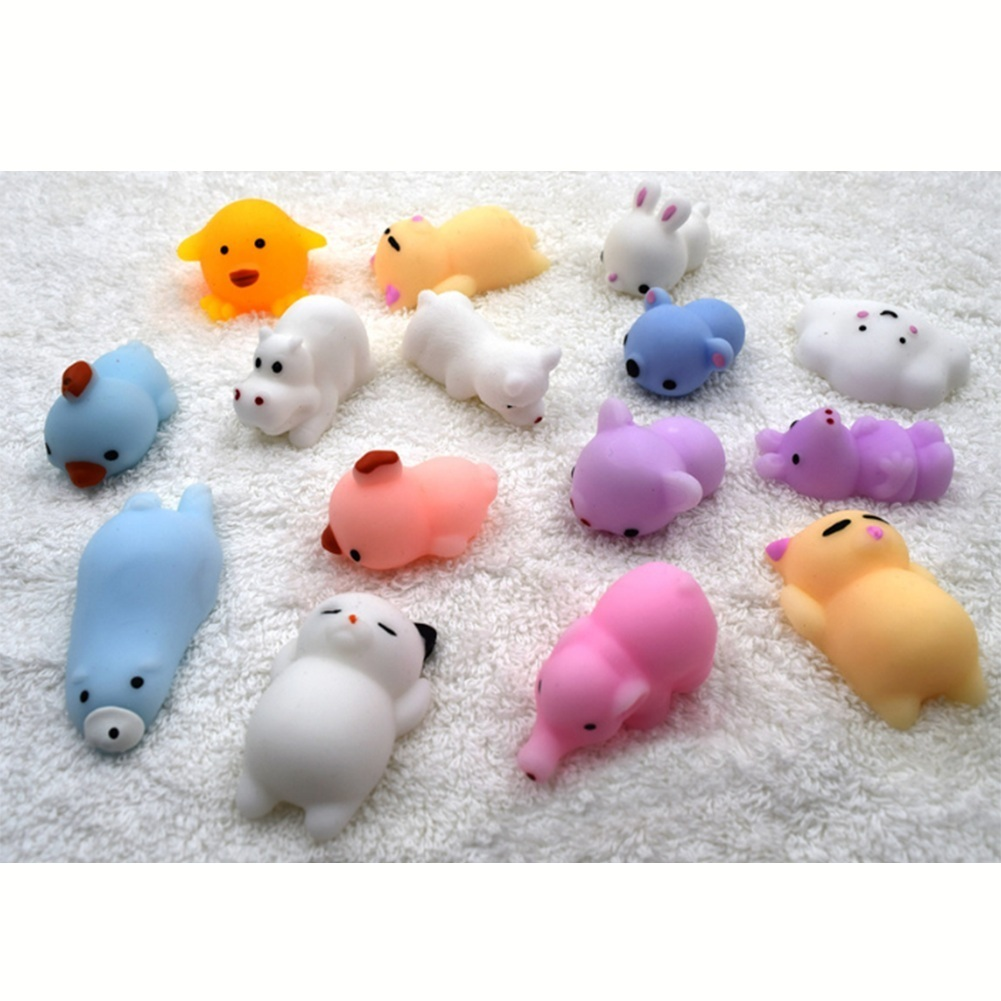 Soft Cute Squishy Cat Wipes Antistress Boot Ball Decompression Sticky Eliminate Pets Fun Stress Squishies Squeeze Friet Kit Toys