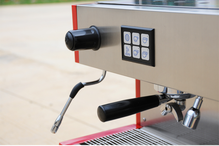 Купить с кэшбэком KT-11.2 Espresso coffee machine commercial use professional coffee maker American coffee Latte Cappuccino Kitsilano
