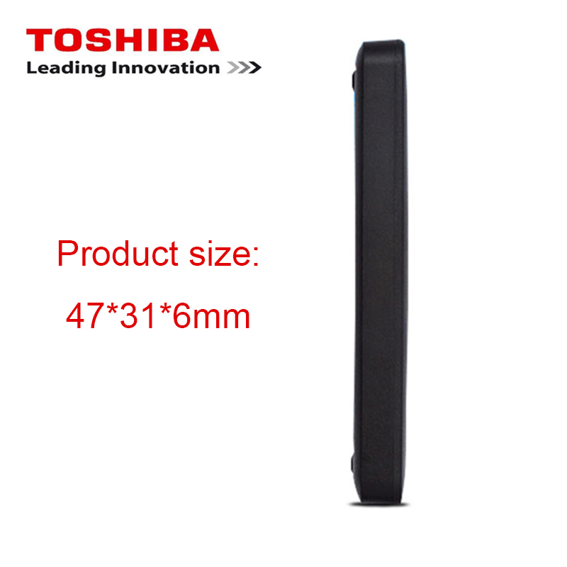 "Image 4 - Original Toshiba 1TB 500GB External HDD 2.5"" USB 3.0 5400RPM External Hard Drive 1TB Hard Disk Drive for Laptop Computer PC-in External Hard Drives from Computer & Office"