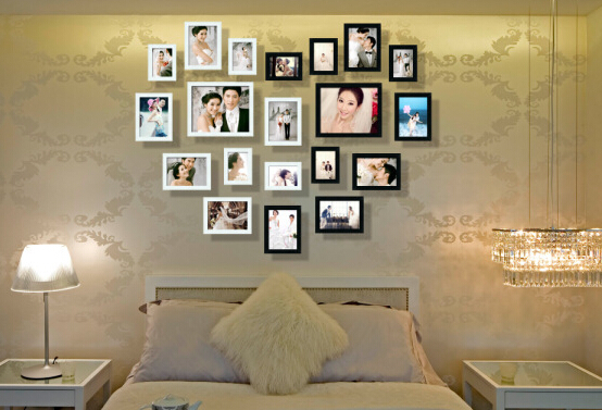 ᗕmuur fotolijst ingesteld 20 stks decoratie fotolijsten moderne