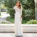 Moda de las mujeres atractivas del cordón de la cintura Floral falda Maxi larga partido Causal caliente