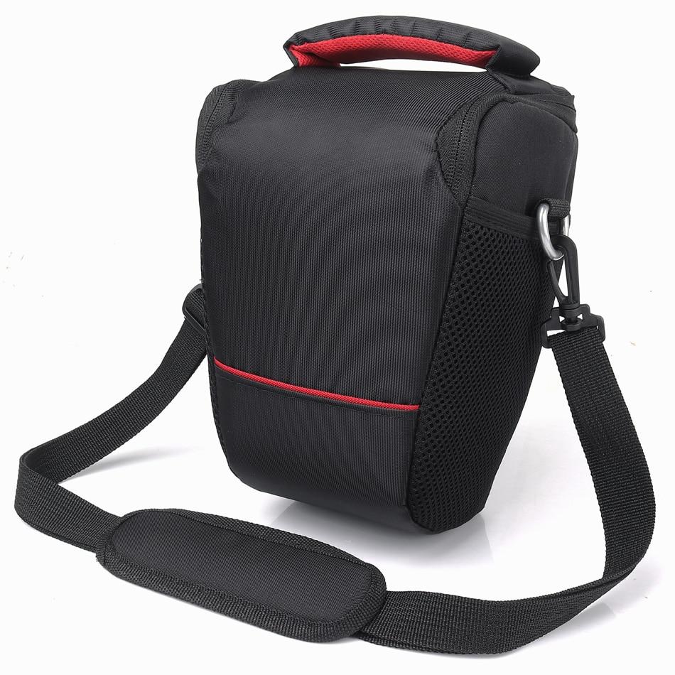 HUWANG Camera Bag Shoulder Case For Sony A7 A7S A7R A77 A7ii A9 A58 A7 II Mark II A7R3 A7RIII A5100 A6000 Nikon D5300 Canon Bag