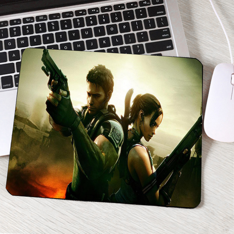 Computer & Office Useful Mairuige Resident Evil Series Video Game Movie Pattern Mousepad Umbrella Logo Printed Mini Pc Laptop Gaming Mouse Mat Table Pad