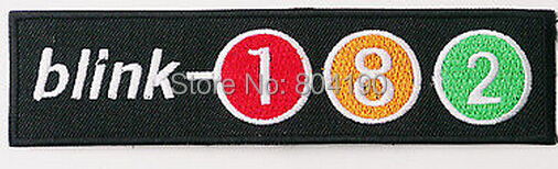 5.1 BLINK-182 Music Band Punk Rock Embroidered NEW IRON ON and SEW ON Patch Heavy Metal applique badge dropship