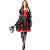 Sexy vampire costumes queen witch halloween costumes for women sexy carnival costumes womens fancy dress adult