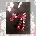 Японский Золотая Рыбка Цветок Сакуры Головные Уборы Клип Haripin Волосы кимоно Юката Кисти