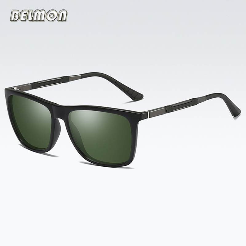 Belmon Polarized Sunglasses Women Men Fashion Brand Driver Sun Glasses For Ladies UV400 Female Male Safety Driving Oculos RS609