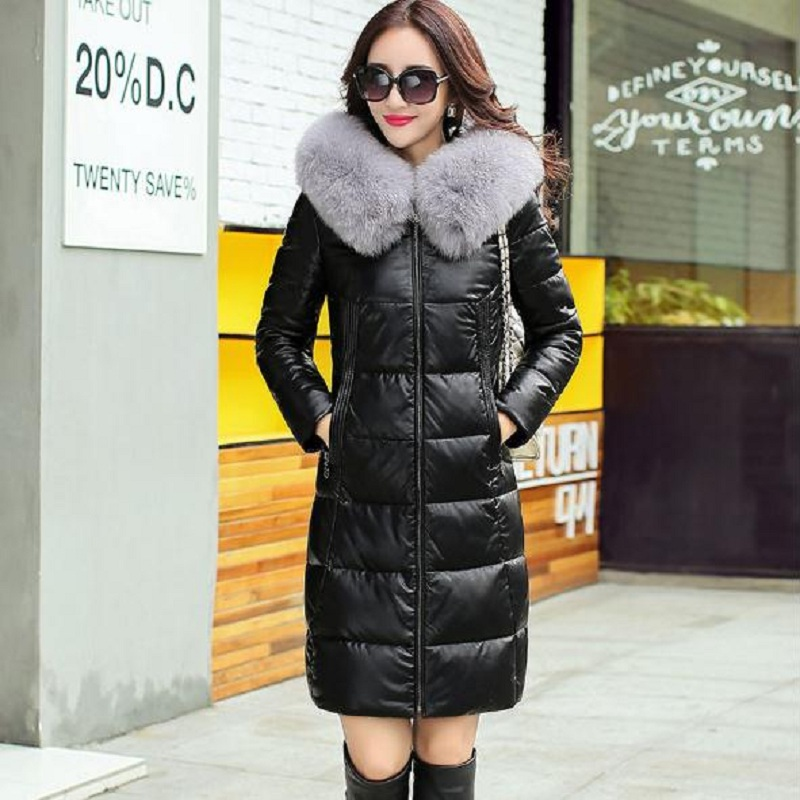 new winter women's down jacket women's parkas Sheepskin and white duck down clothing pregnancy women clothing parkas 978