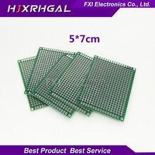 10pcs 5x7cm 5*7 Double Side Prototype PCB diy Universal Printed Circuit Board  igmopnrq
