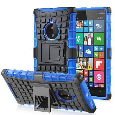 Rugged Armor Case For Nokia Lumia 830 Tpu Pc Dual Cover Protective Phone In Ed Cases From Cellphones Telecommunications