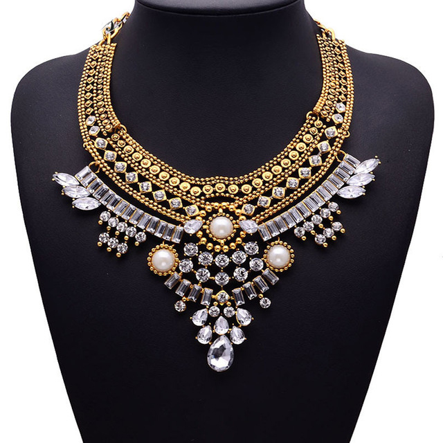 HTB1HJZKaUvrK1RjSszfq6xJNVXaj - Miwens Collar Za Necklaces Pendants Vintage Crystal Maxi Choker Statement Silver Color Collier Necklace Boho Women Jewelry