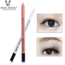 MISS ROSE is not easy to stain cups eyeliner lying silkworm pen concealer