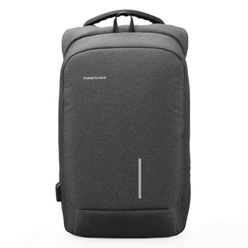 TFTP-Kingsons Anti-Theft and USB Charging Port Backpack Anti-Slip Fashion Polyester Laptop / Tablet PC Trolley