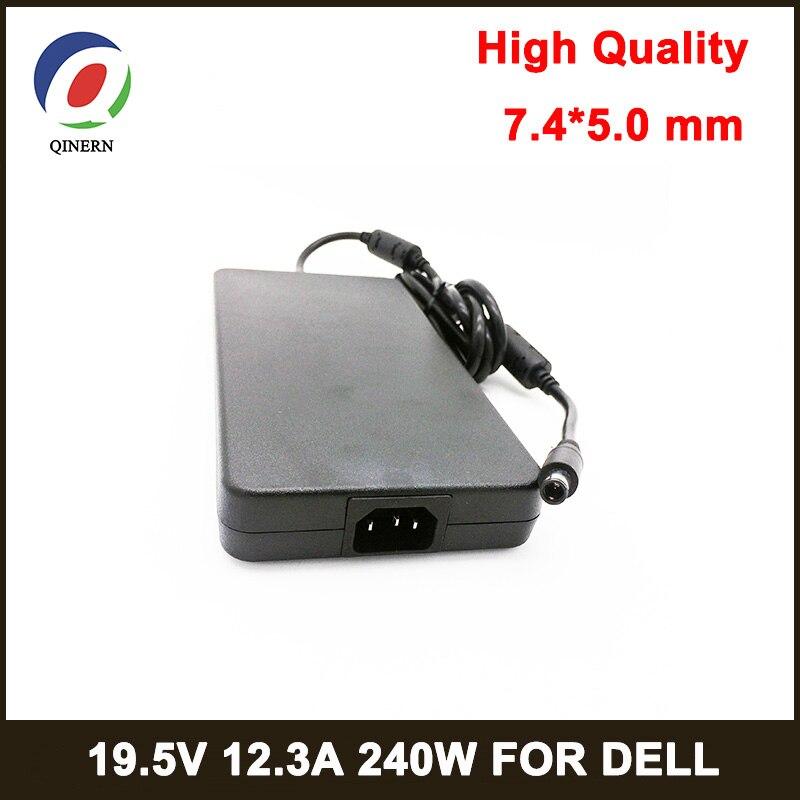 240 Вт блок питания для ноутбука 19,5 в 12.3A 7,4*5,0 мм 8PIN адаптер для ноутбука Dell alienware M6700 M4700 M6400 M6500 M6600 M15x зарядное устройство