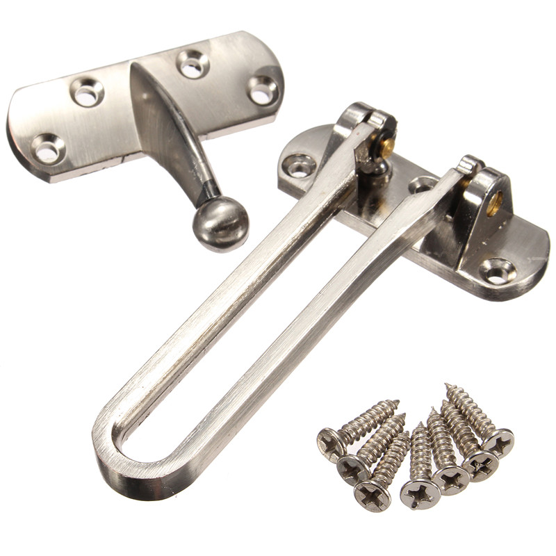 Zinc Alloy Door Guard Restrictor Door Fastens Security