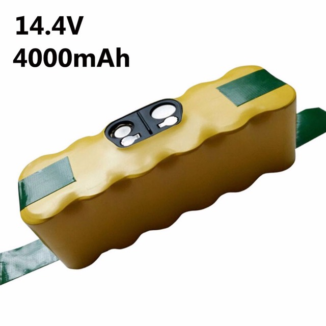 4000mAh NI-MH Battery for iRobot Roomba 500 529 530 550 560 560 595 600 620 630 650 660 700 780 770 760 790 800 860 870 880 980