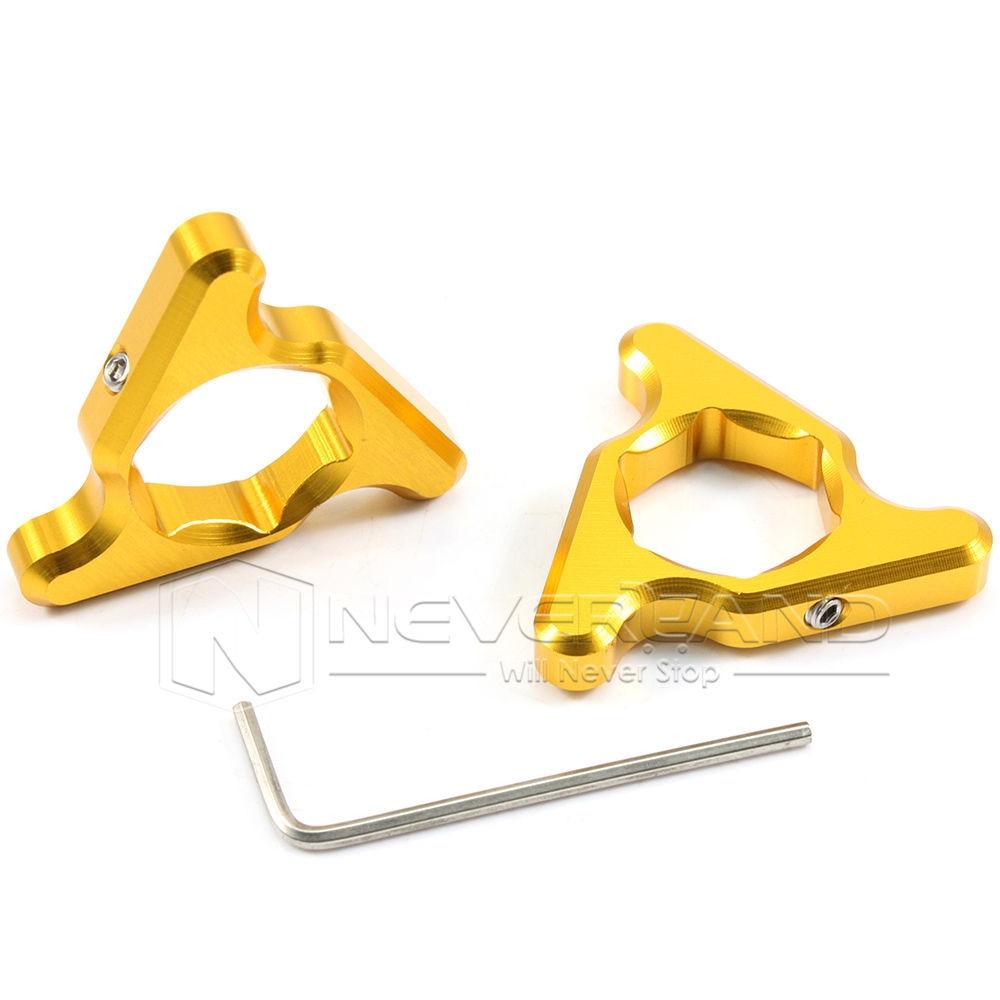 2pcs 19mm Motorcycle Aluminum Fork Preload Adjusters For SUZUKI GSXR 600 GSXR 750 GSX650F SV650/SV650S Gold Free shipping D10 free shipping for bmw s1000rr motorcycle accessories 17mm fork preload adjusters 2pcs gold